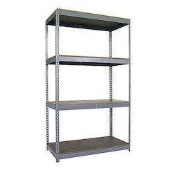 Four Slotted Angle Lab Rack