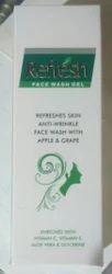 Refresh Face Wash Anti Wrinkle Face Wash Gel, Pack Size: 60 Gms