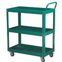 Color Coated Material Handling Steel Trolley