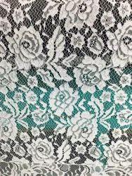 Raschel Jacquard Lace Fabric