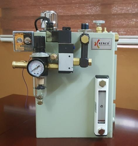 Kenco Mild Steel MQL Inject Micro Fog Oil Mist Lubrication System, Capacity: 5 To 20 Litre