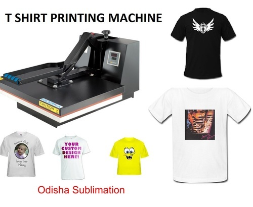 3702ebd4 T Shirt Printing Machine - Sublimation T Shirt Printer at Rs 9000 ...