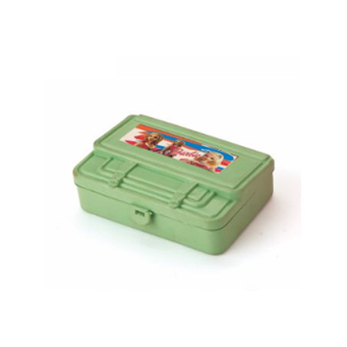 Green Plastic Lunch Box