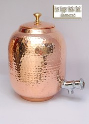 Copper Hammered Matka