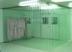Flexible Transparent PVC Strip Curtain
