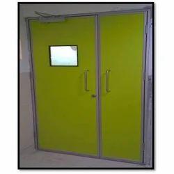 Hermetically Sealed Hinged Door