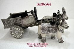 Bullock Cart Oxodise Wooden Handicraft