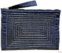 Cotton Denim Pouch