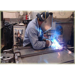 Steel Sheet Metal Fabrication Services, Thickness: 10 Mm