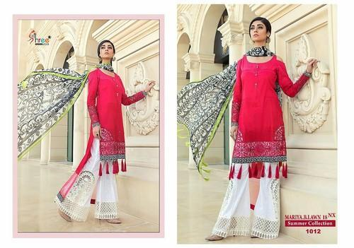 c77d36db67 Embroidered Pakistani Lawn Suit, Rs 999 /piece, Naira Designer | ID ...