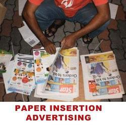 Paper Insertion Advertising