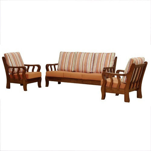 Wood Colour Wooden Sofa Set Rs 25000 Piece Wood N Kraft
