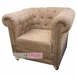 Jangid Art & Crafts Gray Indian Living Room Sofa