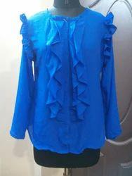 Cotton Printed Ladies Shirts