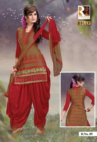 26ebe9aa26 Ladies Designer Patiyala Salwar Suits at Rs 780 /set | New Textile ...