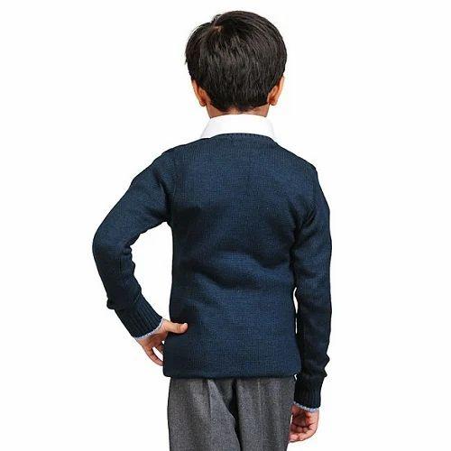 bafb4ac47282 Both Winter Oswal Navy Blue School Sweater