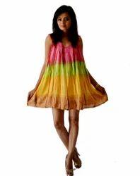 Multicolored Casual Dress