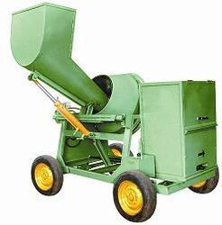 Wheel Type Mixer Machine