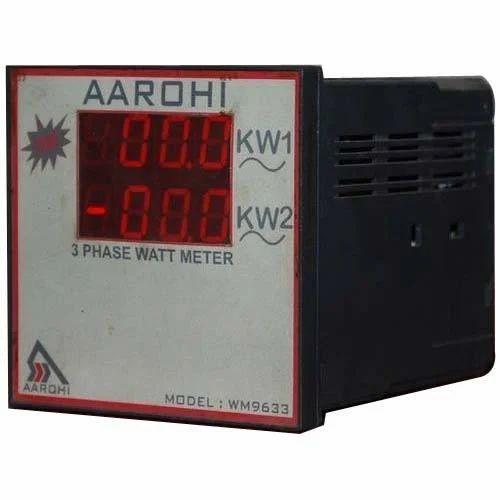 Three Phase Digital Watt Meter