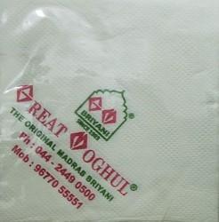 Logo Printed Paper Napkin