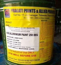 Heat Resistant Silver Paint