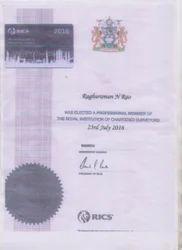 RICS Certificate