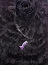 Weft Black Hair