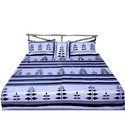 5 Piece Black N White Silk Bed Linen 439