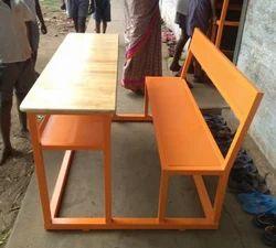 Wood School Desk