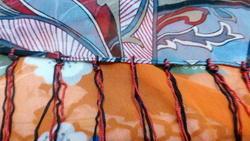 Fringes Silk Scarf