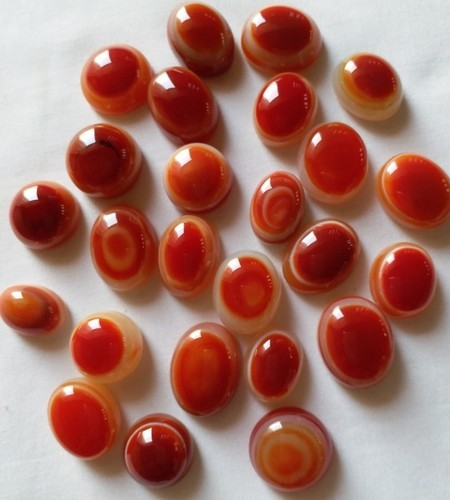 Red Ring Size Eye Agate