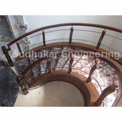 Stair Wood Handrail