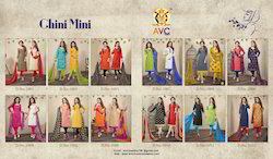 AVC Chini Mini Vol-2 Chudidar Pattern Suit