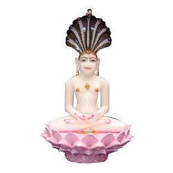 Jain Marble God Statue
