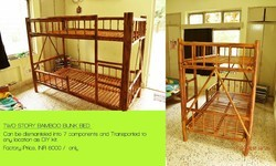Bamboo Bunk Bed Size Bed Area 6 X 3 Sq Ft Rs 8000 Piece Id