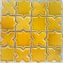 Glossy Ceremic Yellow Ceramic Tile, Thickness: 5-10 Mm, Packaging Type: Box