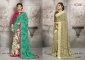 High Printed Work Sarees