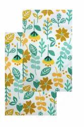 Multi Colour Flower Dish Towel