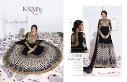 Ethnic XL Ladies Embroidered Exclusive Gown