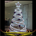 Cold White Color LED Tree