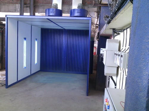 paint booth, automotive paint booths