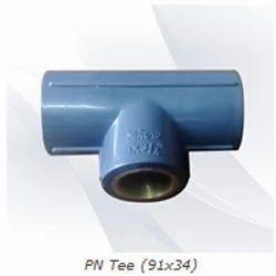 Micro Plastic Pipe Tee for Plumbing Pipe