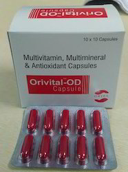 Multivitamin Multimineral and Antioxidant Capsules