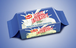 6 Month Milky Milk Energy Biscuits, Packaging Type: Box