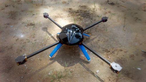 horizon 700 drone carbon fiber frame kit