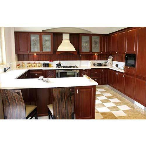 Indian Modular Kitchen Design U Shape: View Specifications & Details
