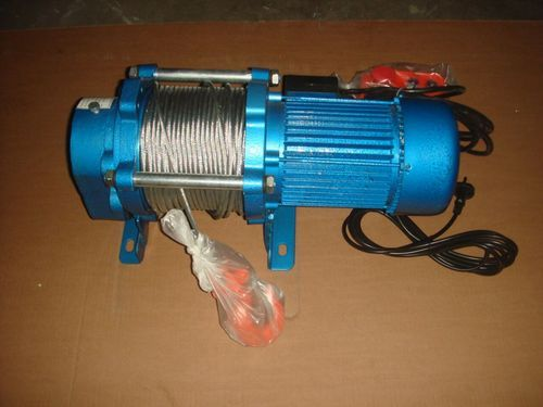 SKEW Electric Winches Single Phase Winch, Capacity: 500kgs To 1000kgs, for  Industrial