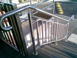 Stainless Steel Commercial Model Handrail
