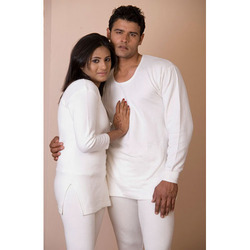 VP Oswal White Thermal Wear