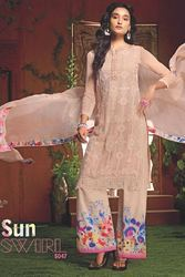 Georgette Embroidery Party Wear Suit